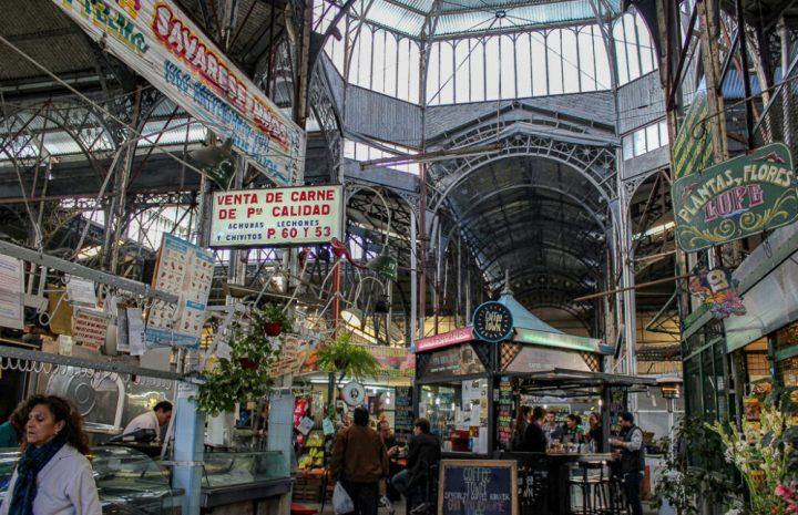 The San Telmo Market in Buenos Aires, Argentina