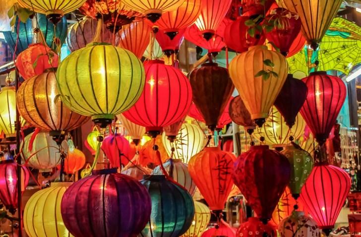 Lanterns for sale in Hoi An, Vietnam