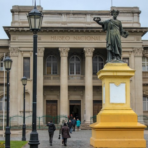 National Museum in Santiago, Chile