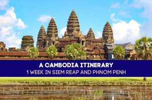 A Cambodia Itinerary 1 Week in Siem Reap and Phnom Penh by JetSettingFools.com