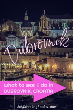 Dubrovnik What To Do by JetSettingFools.com