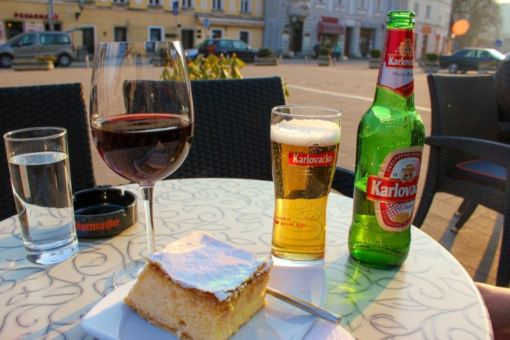 Famous Samobor cake