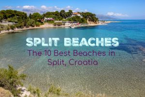 Split Beaches: The 10 Best Beaches in Split, Croatia by JetSettingFools.com
