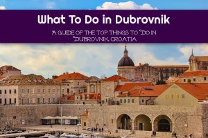 What To Do in Dubrovnik: A Guide of the Top Things To Do in Dubrovnik, Croatia by JetSettingFools.com