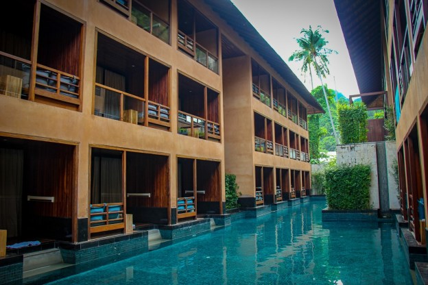 Pool at the Avatar Hotel in Railay Beach, Thailand