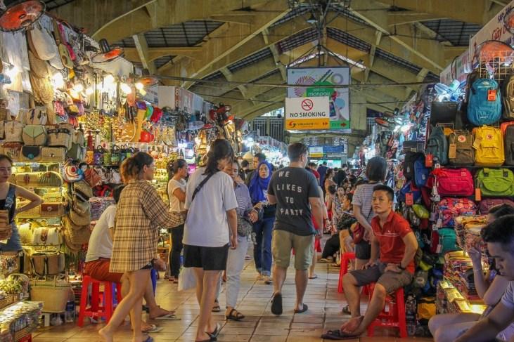 Main Market Hall, Ben Thanh Market, Saigon, HCMC, Vietnam