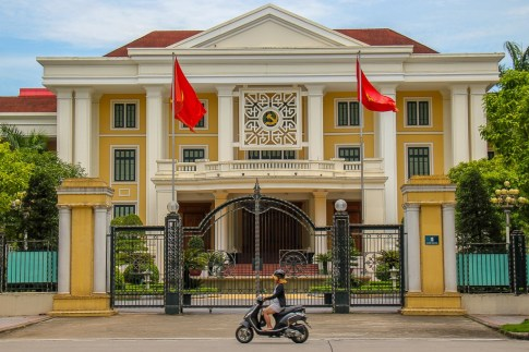 Stoic Central Government Office in Hanoi, Vietnam