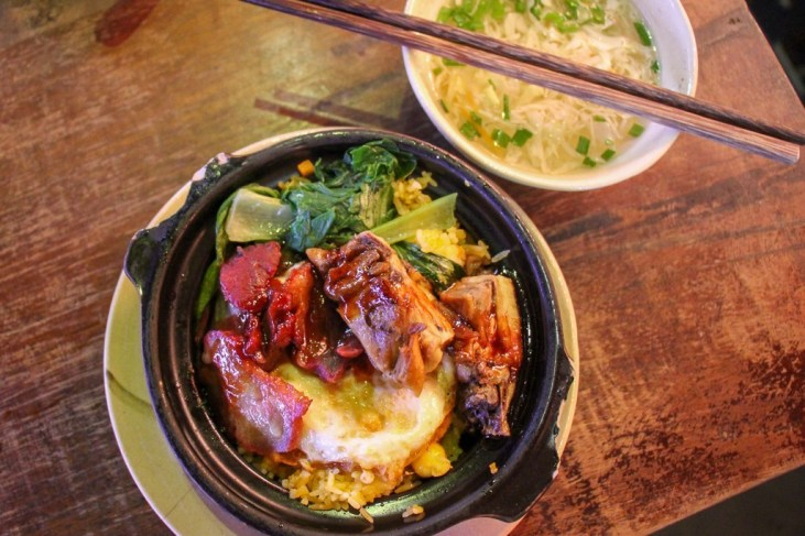 Typical Lunch, Food at Cocochin Food Court, Saigon, HCMC, Vietnam