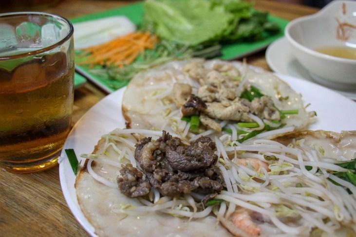 Banh Xeo Zon, Hanoi, Vietnam
