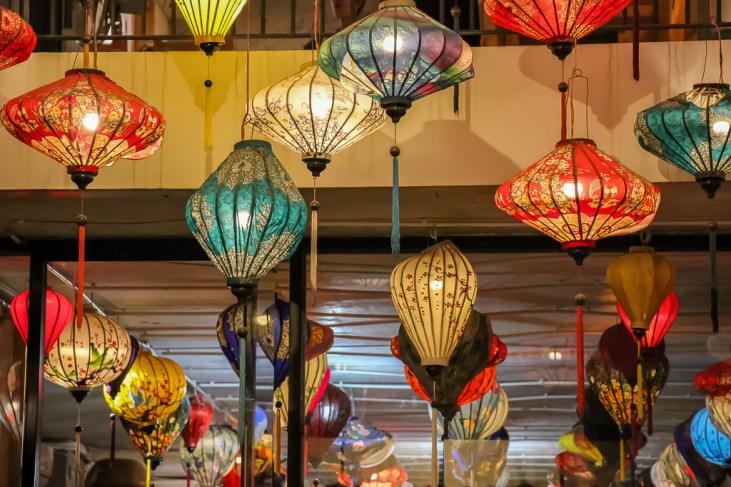 Colorful Lanterns, Da Nang, Vietnam