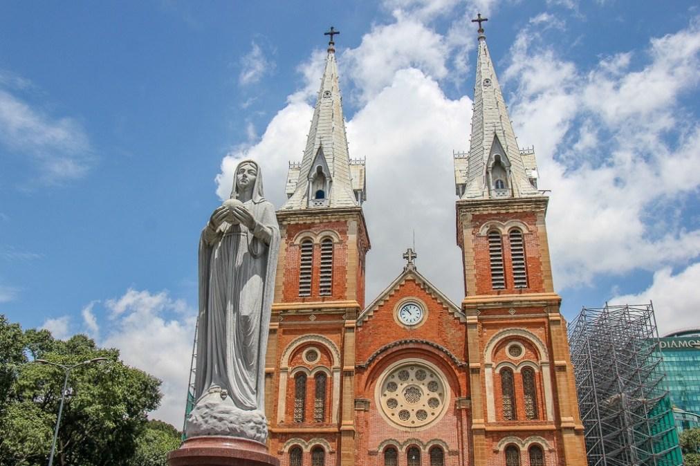 Notre Dame Cathedral, Saigon, HCMC, Vietnam