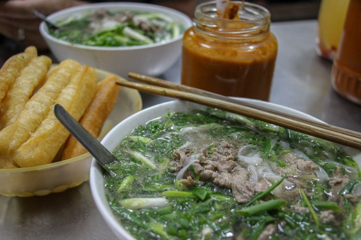 Bowl of Pho at Pho Thin in Hanoi, Vietnam