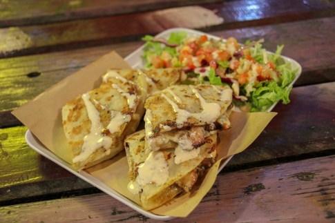 Chicken Quesadilla, Da Nang Night Market, Vietnam