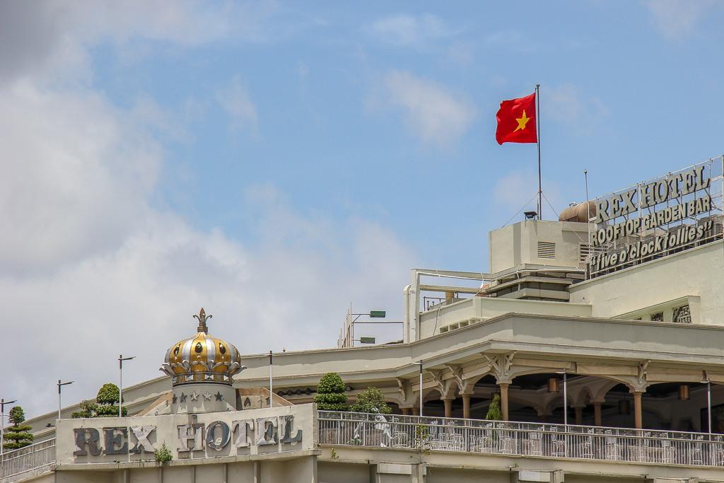 Home Of The 5 O'Clock Follies, Rex Hotel, Saigon, HCMC, Vietnam