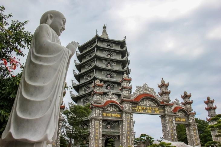 Vuon Loc Uyen Temple, Son Tra, Da Nang, Vietnam