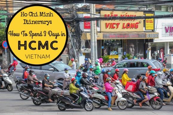3 Days in Ho Chi Minh Itinerary by JetSettingFools.com