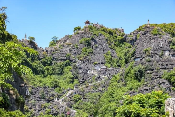 Take a hike to Hang Mua View from below, Ninh Binh Province, Vietnam