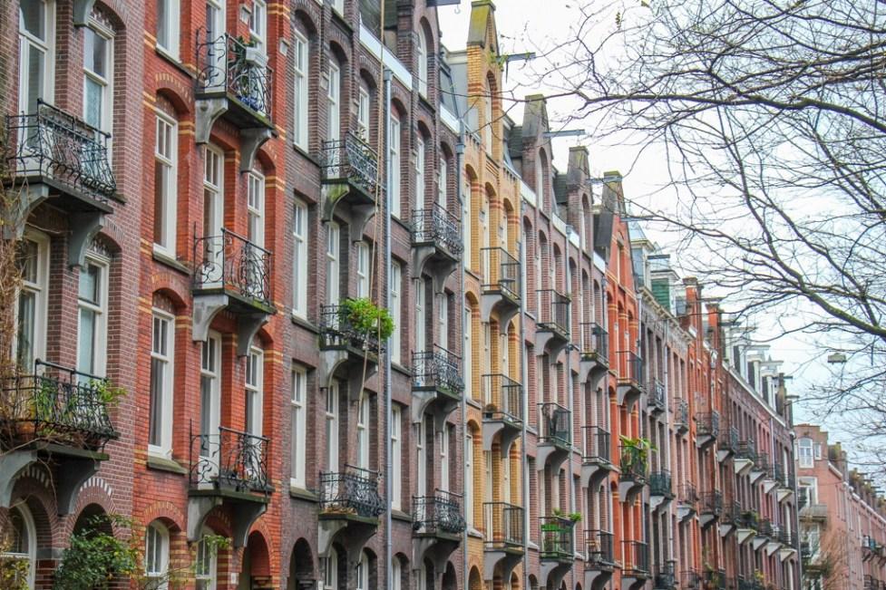 Beautiful houses, Amsterdam, Netherlands