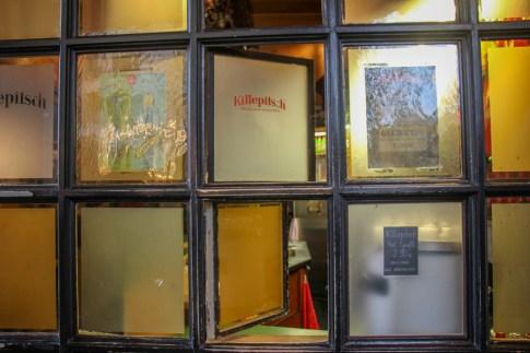 The take away window at Killepitch, Dusseldorf, Germany