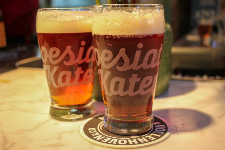 Fresh Beer, Poesiat & Kater Microbrewery Amsterdam, Craft Beer