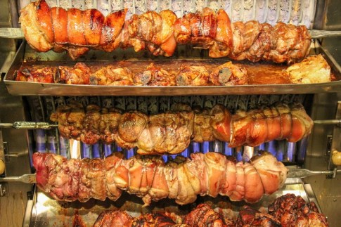 Roated Pork Knuckle, Dusseldorf, Germany