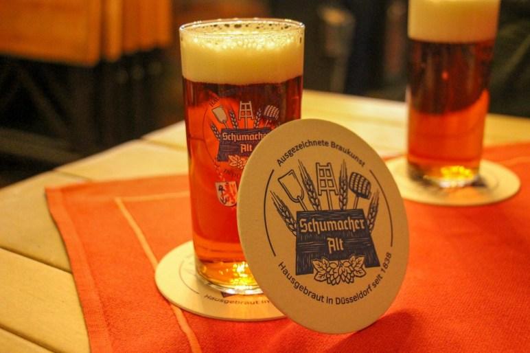 Famous Alt Beer, Dusseldorf, Germany