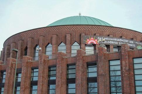 Concert Hall, Dusseldorf, Germany