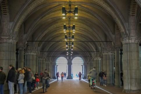 Pedestrian Tunnel, Rijksmuseum, Amsterdam, Netherlands