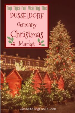 Visiting The Christmas Market in Dusseldorf, Germany by JetSettingFools.com