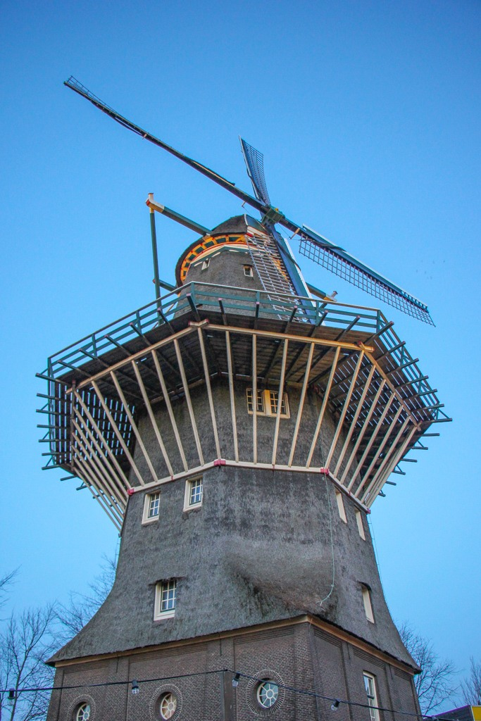 Must see, Windmill, Amsterdam, Netherlands