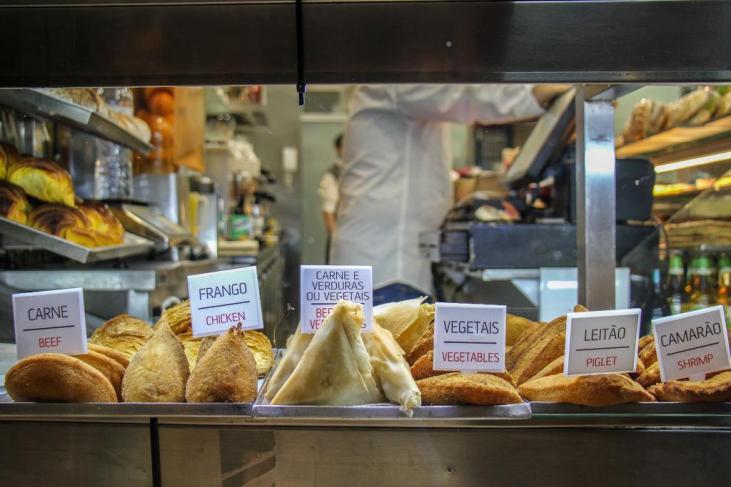 Takeaway food, Porto, Portugal