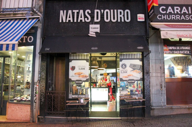 Egg Tarts, NATAS D'Ouro, Porto, Portugal