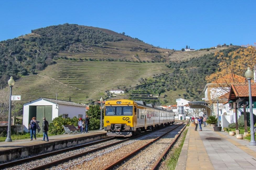 Train Station, Pinhao, Portugal