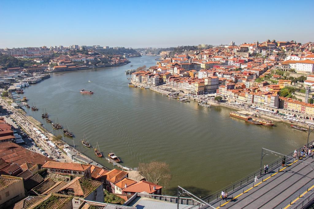 View from Miradouro da Serra do Pilar, Porto, Portugal