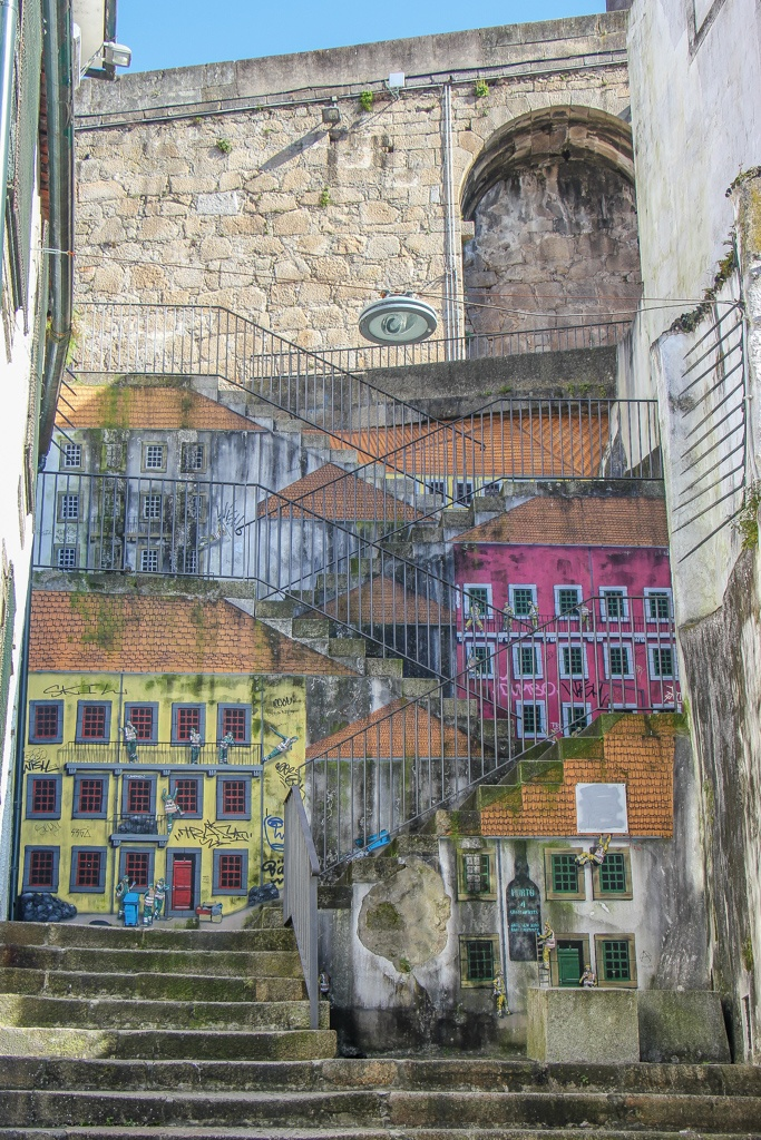 Street Art, Vila Nova de Gaia, Porto, Portugal