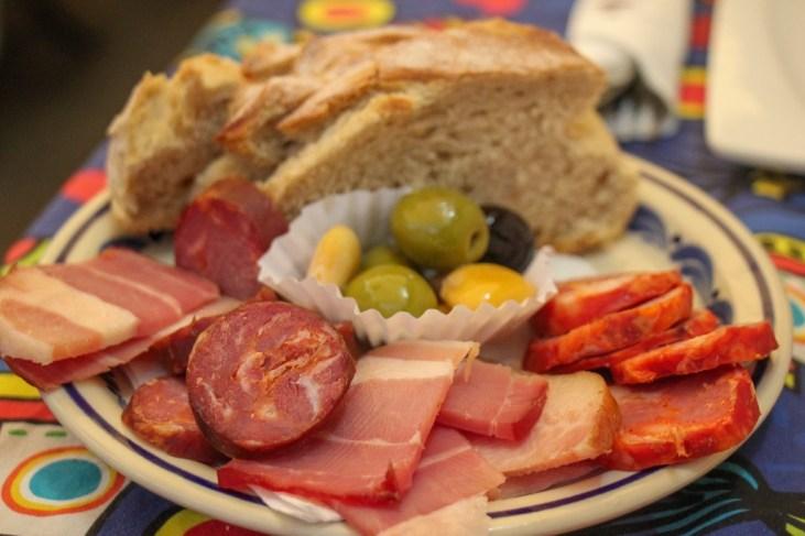 Snack Plate, Porto, Portugal