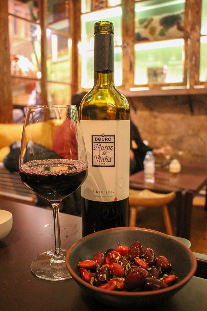 Red Wine, Drinking In Porto, Portugal