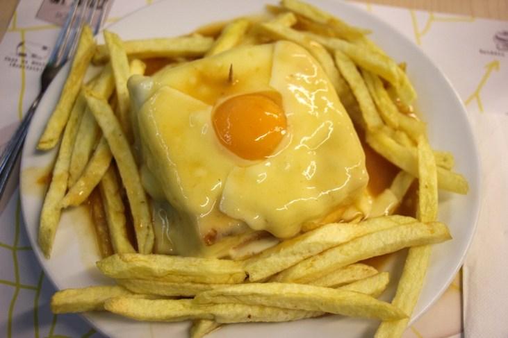 Cafe Santiago, Francesinha Porto Sandwich, Portugal