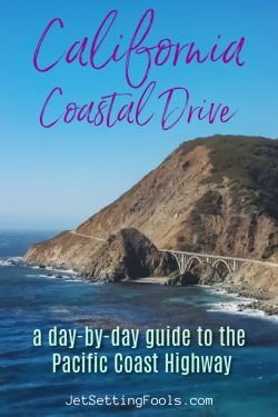 California Coastal Drive by JetSettingFools.com