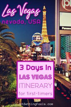 Las Vegas Itinerary by JetSettingFools.com