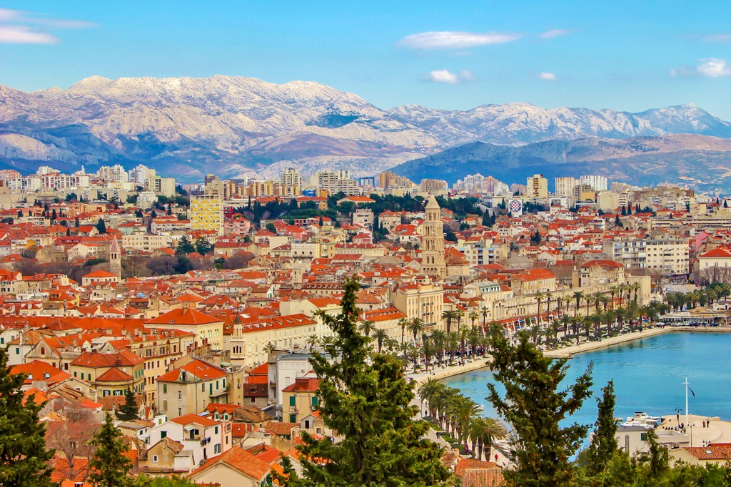 The Best Split Croatia View