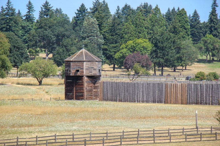 Historical Building at Fort Vancouver, WA