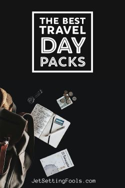 The Best Travel Day Packs by JetSettingFools.com