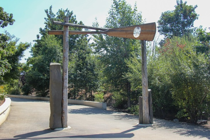 Welcome Gate, Land Bridge, Vancouver, WA
