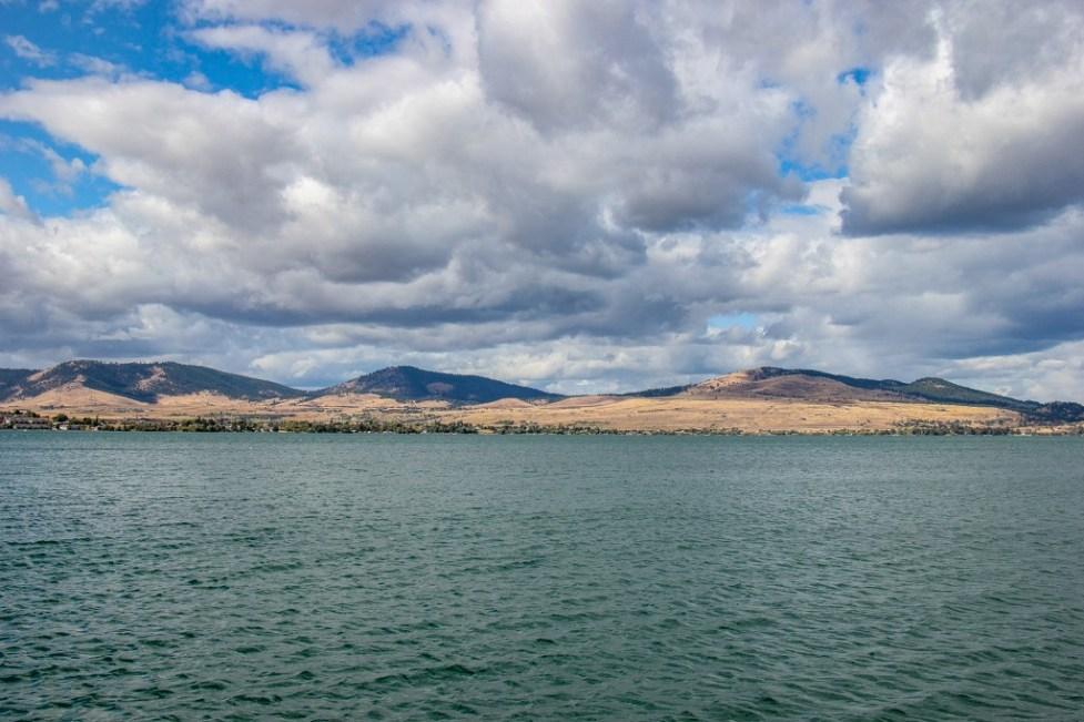 View of Flathead Lake, Montana Road Trip