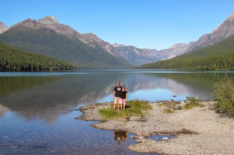 Soak in the amazing View at Lake Bowman, Glacier National Park, Montana