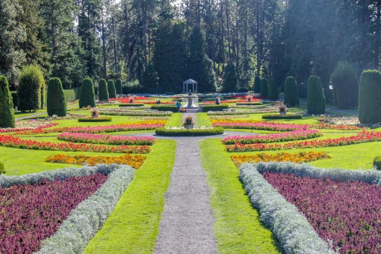 Bright Colors at Manito Park Gardens, Spokane, WA