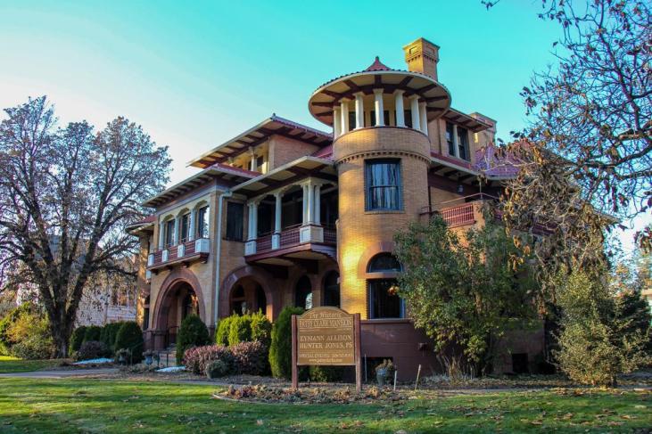 Famous Patsy Clark Mansion, Spokane, WA