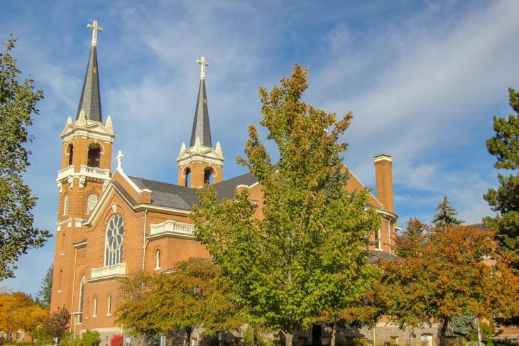 Gonzaga University Campus, St Aloysius Church, Spokane, WA