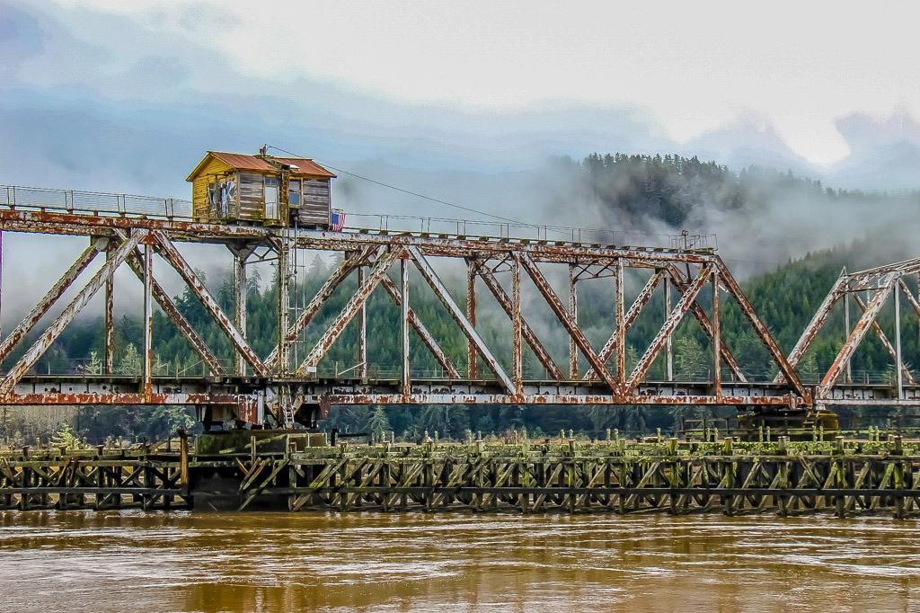 Cushman,one of the many Bridges Near Florence, Oregon